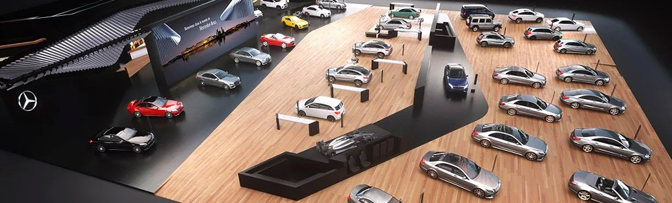 Stand Mercedes – Salon de Genève 2016