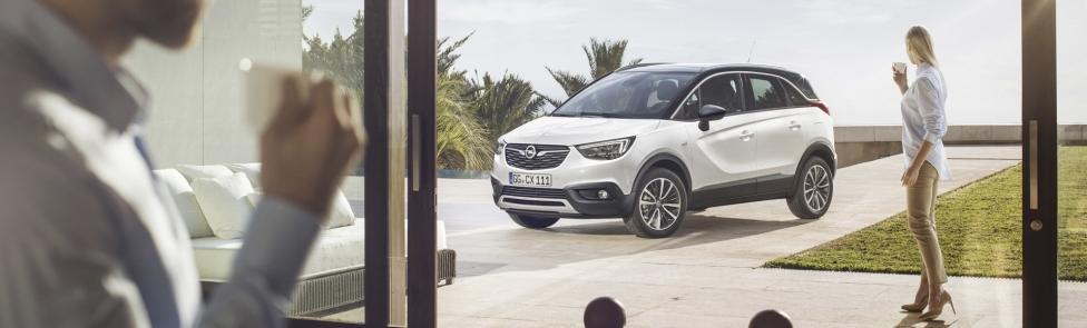 Le nouvel Opel Crossland X