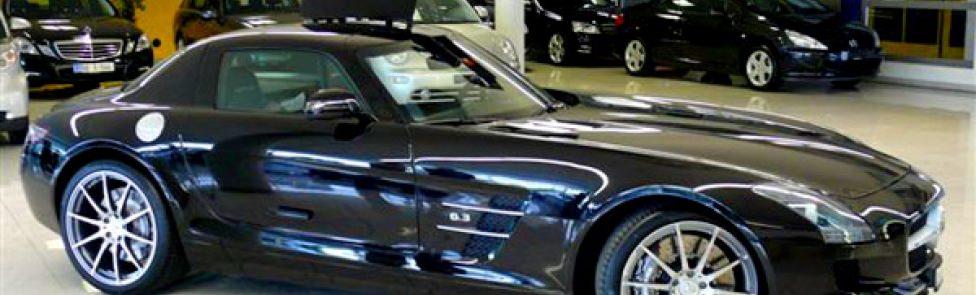 Livraison de la première Mercedes-Benz SLS AMG