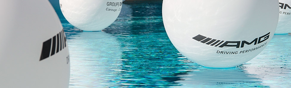 Soirée Mercedes-AMG à l'hôtel InterContinental de Genève