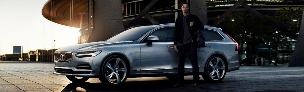Volvo V90 featuring Zlatan Ibrahimović