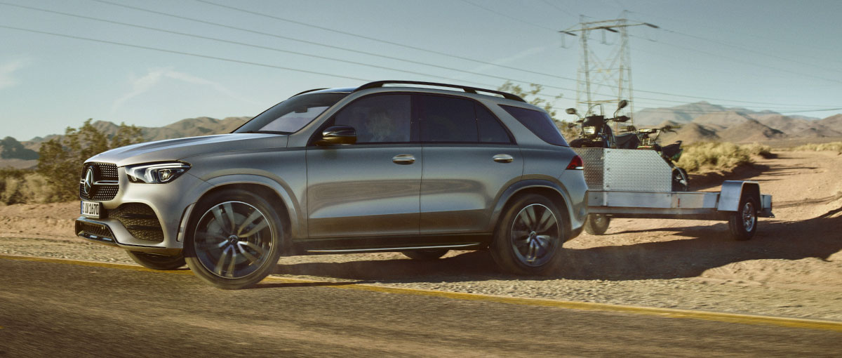 Le GLE, un SUV 7 places d'excellence