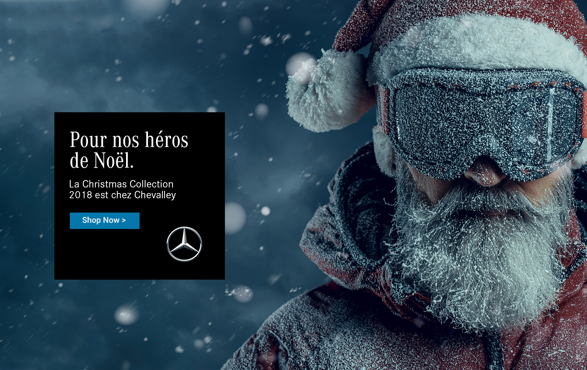 Shop Noël Mercedes-Bent Collection Groupe Chevalley 2018