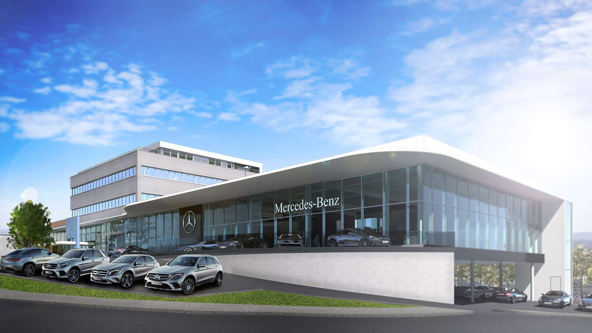 Garage Mercedes-Benz & smart de Nyon Groupe Chevalley