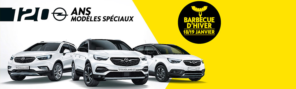 Opel Barbecue 120 ans
