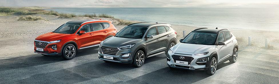 Les SUV Hyundai 4×4