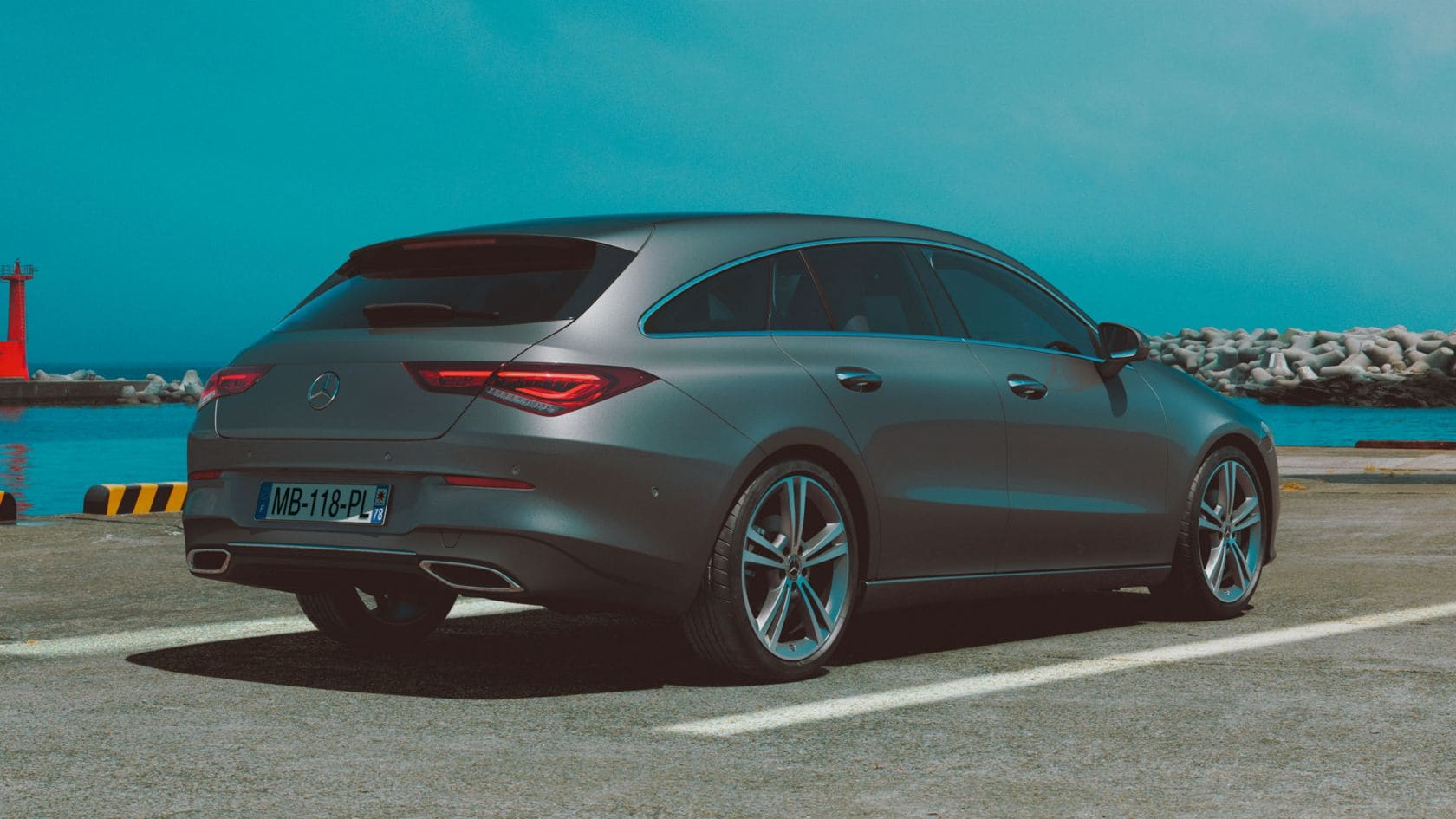 Nouveau Mercedes CLA Shooting Brake 2019