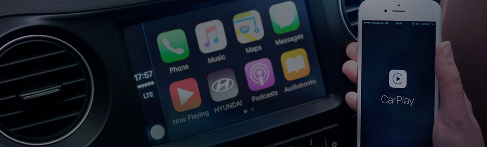 Comment utiliser Apple CarPlay™ et Android Auto™ dans votre Hyundai