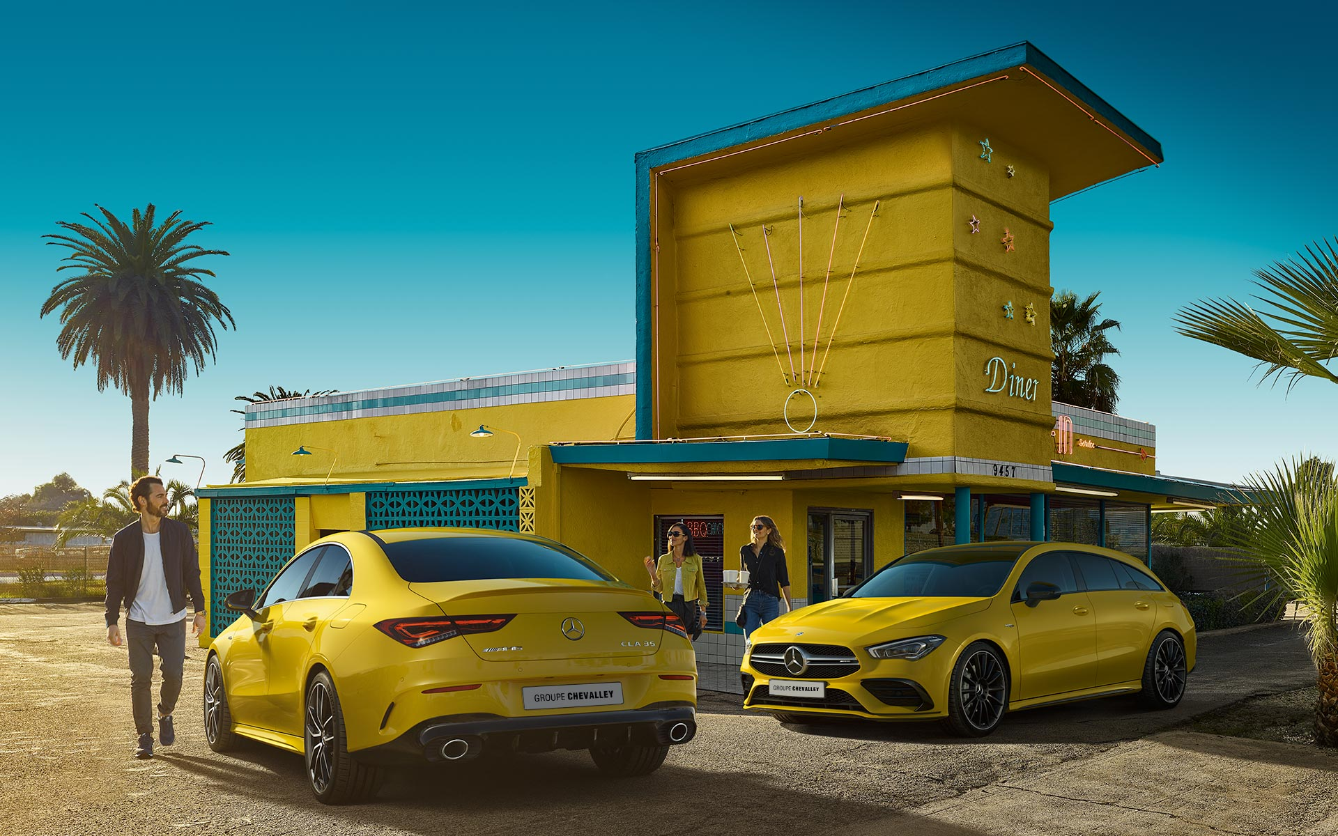Mercedes-AMG CLA35 Coupé & Shooting Brake 2019- AMg Performance Center Groupe Chevalley