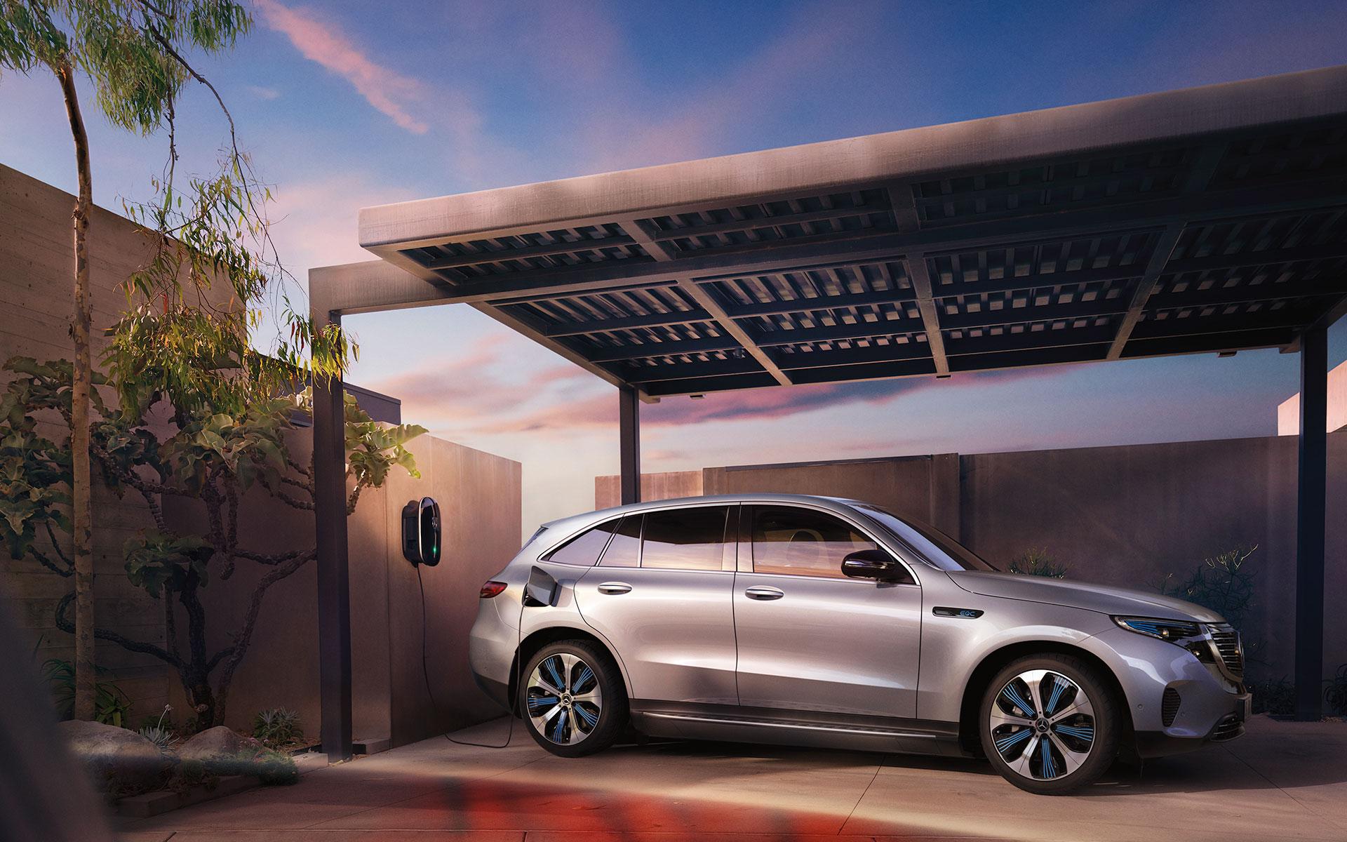 Nouveau Mercedes SUV EQC électrique - Groupe Chevalley