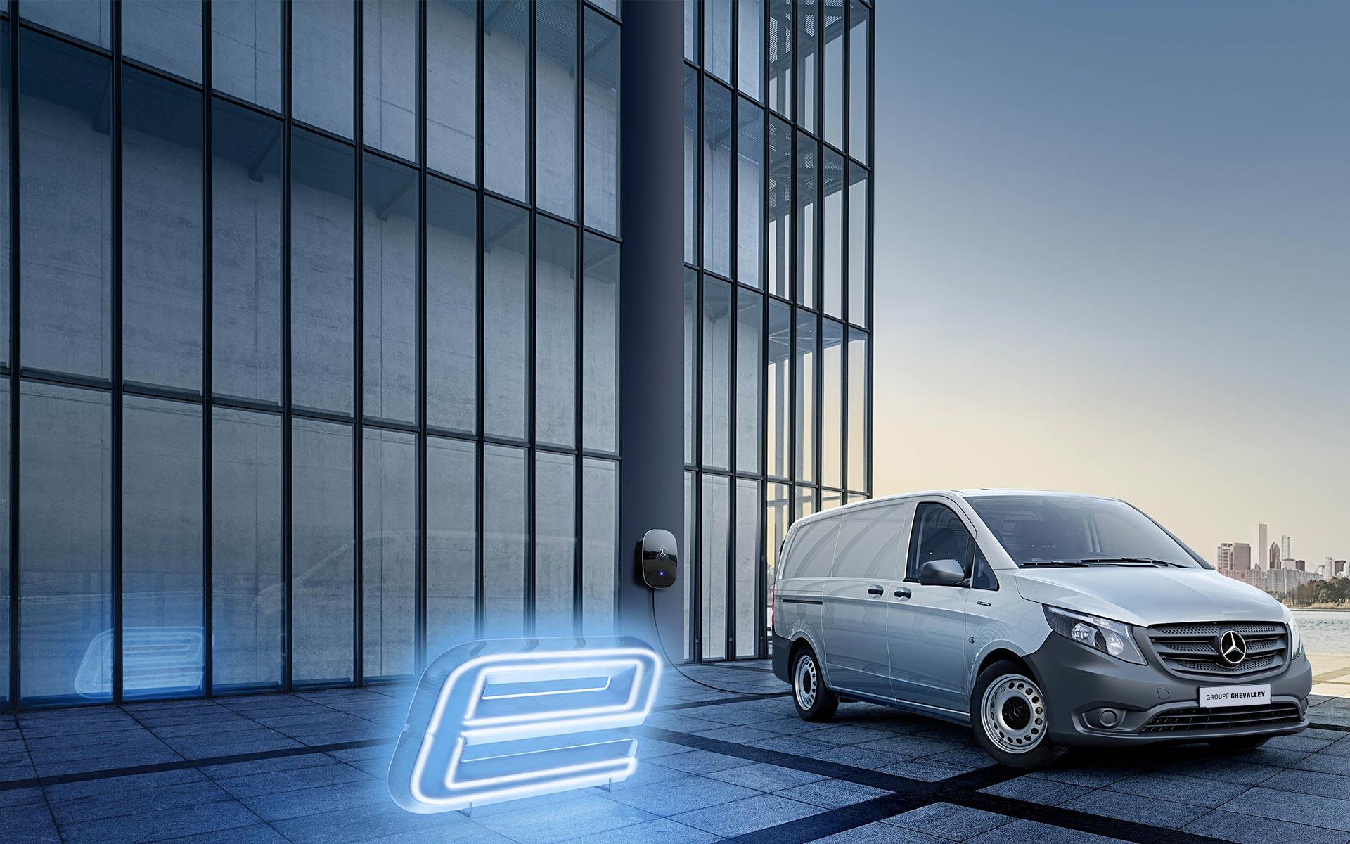 Mercedes eVito Fourgon électrique