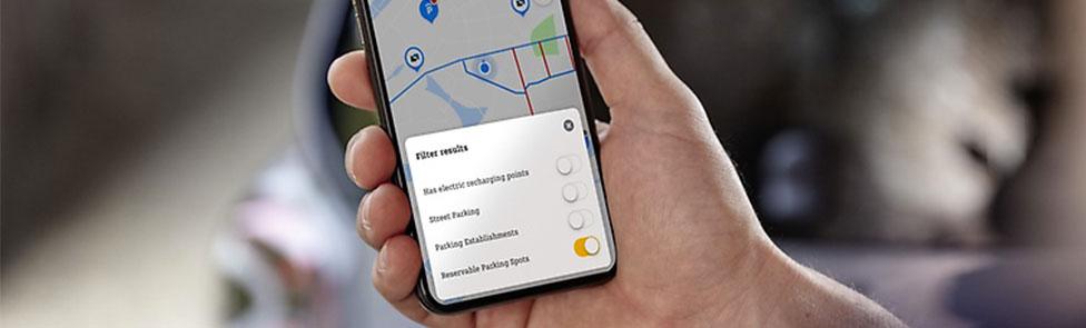 L'application smart EQ control