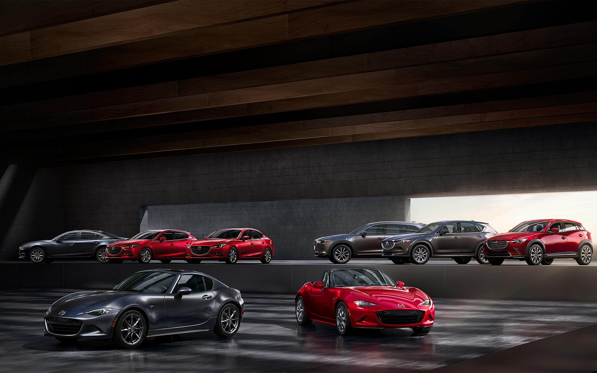Mazda gamme Groupe chevalley neuves et occasions