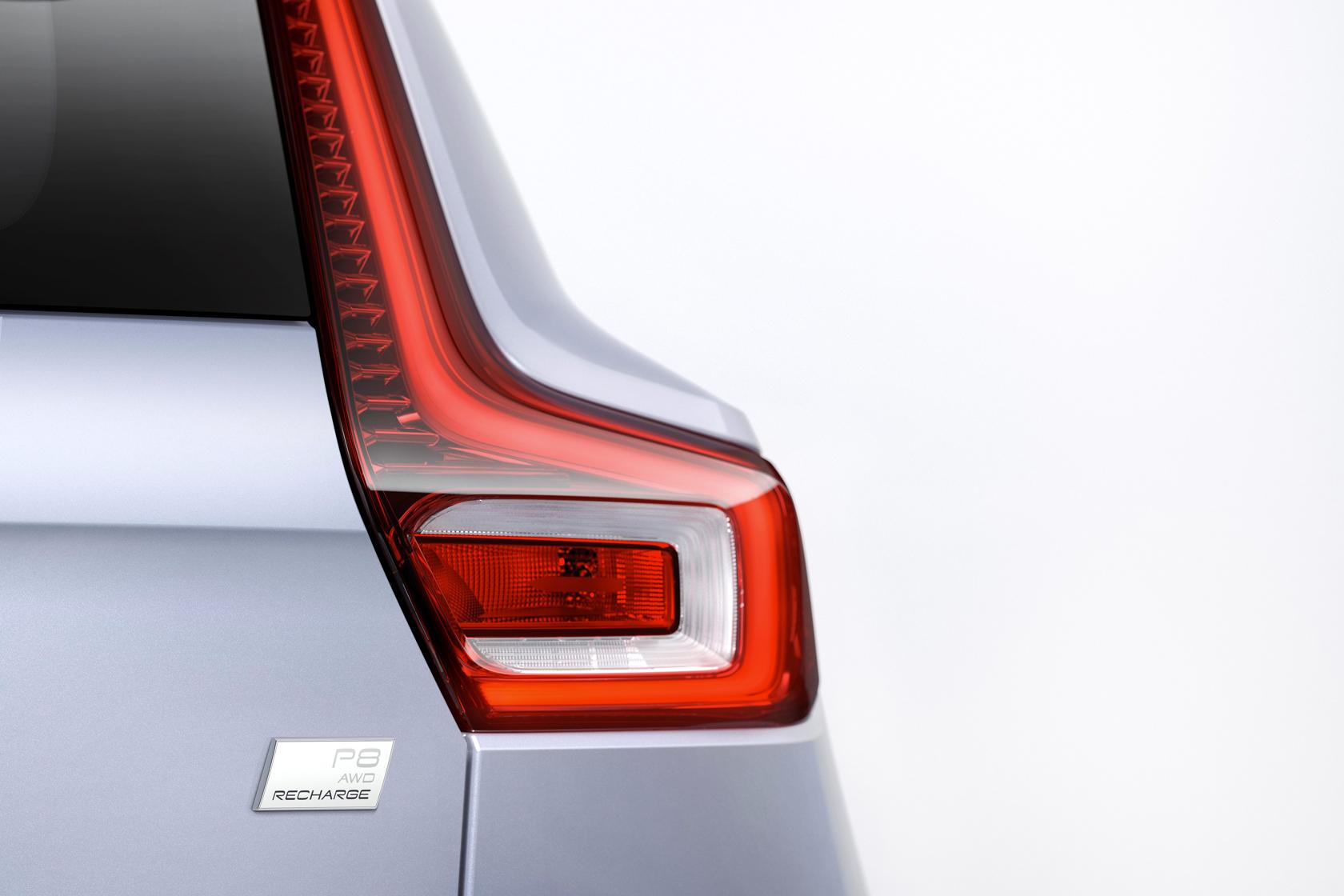 Le SUV Volvo XC40 - 100% électrique