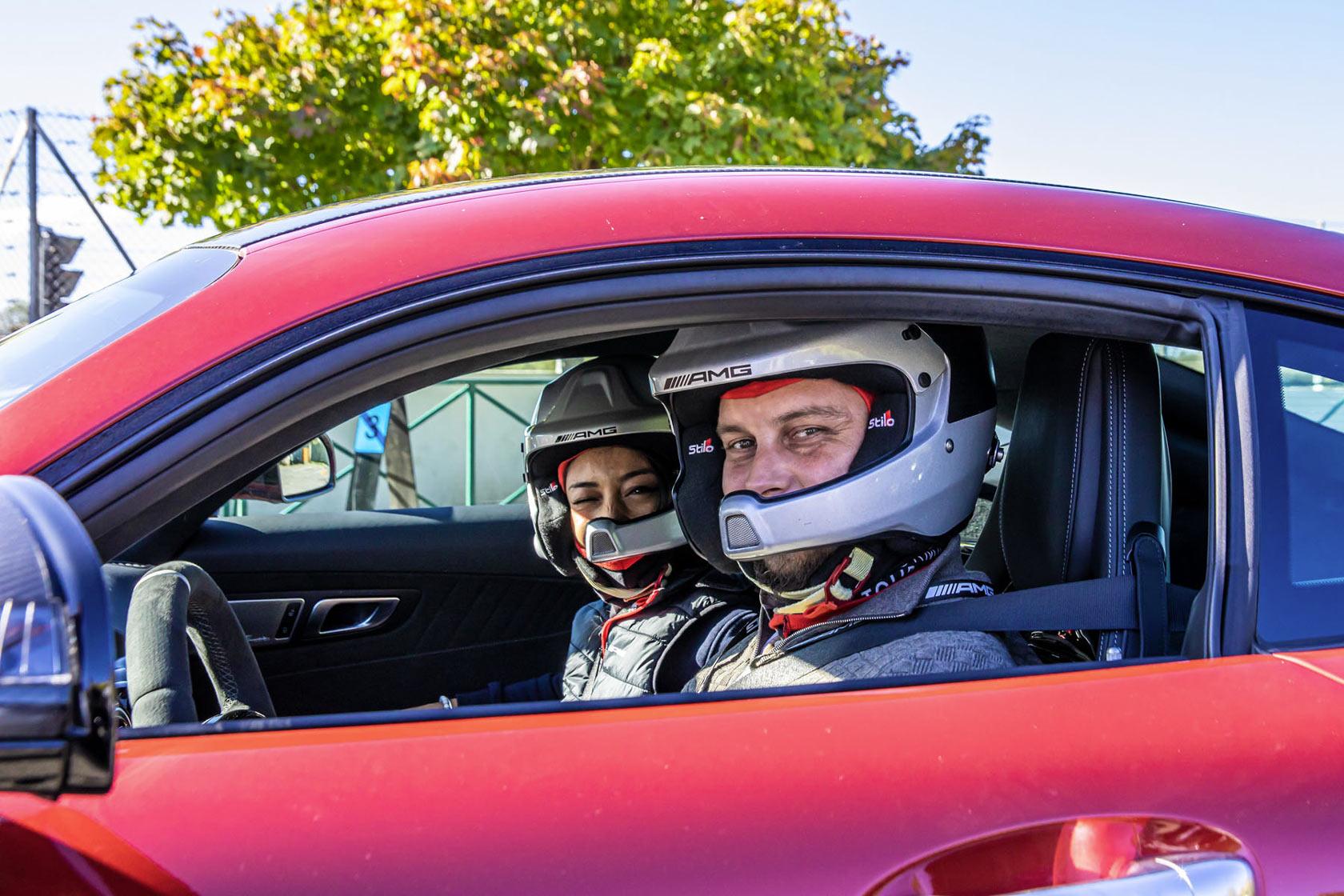 Sans limite de vitesse : AMG Performance Tour 2019