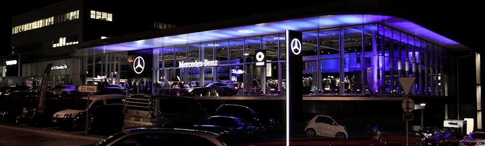 Un showroom Mercedes-Benz novateur ouvre ses portes à Nyon