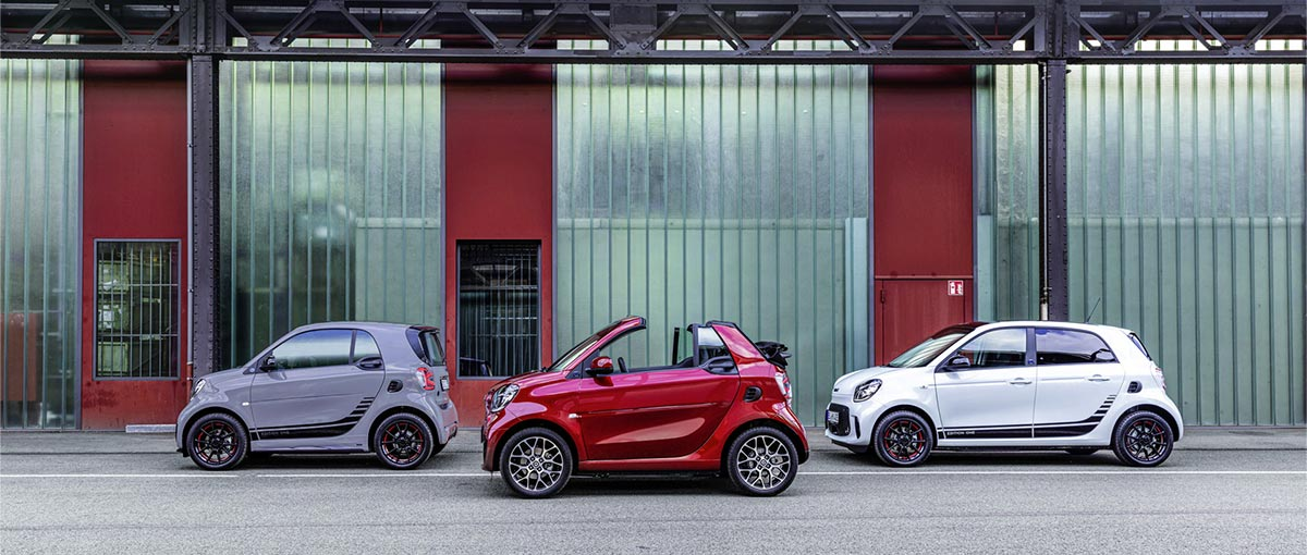 smart – All electric, now!
