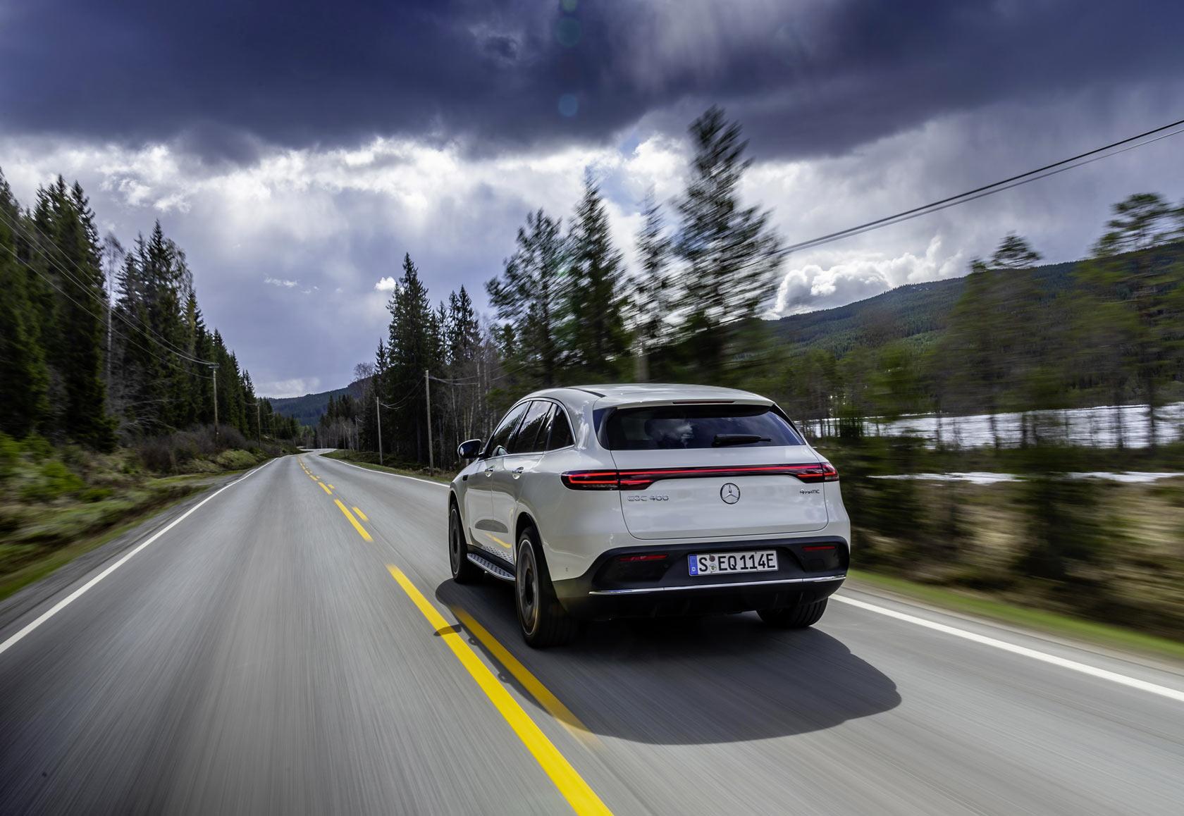 Mercedes EQC : Essai auto Trajectoire magazine