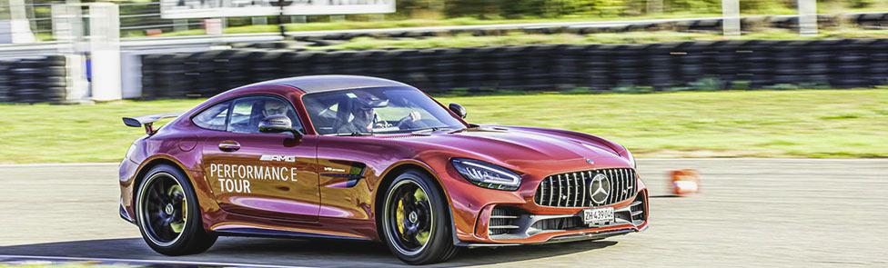 Sans limite de vitesse : AMG Performance Tour