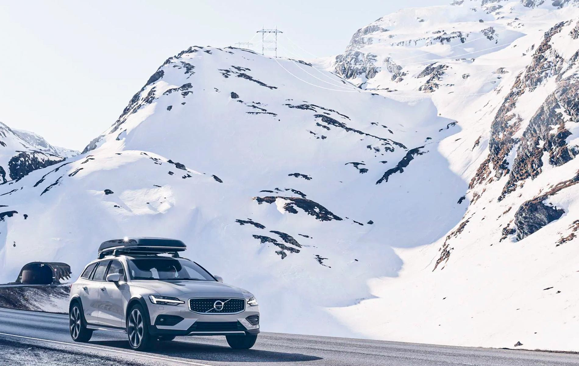 Volvo V60 Cross Country hiver 2019 Groupe Chevalley