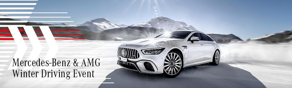 Mercedes Winter Driving Event 2020 – Circuit Glace de Flaine