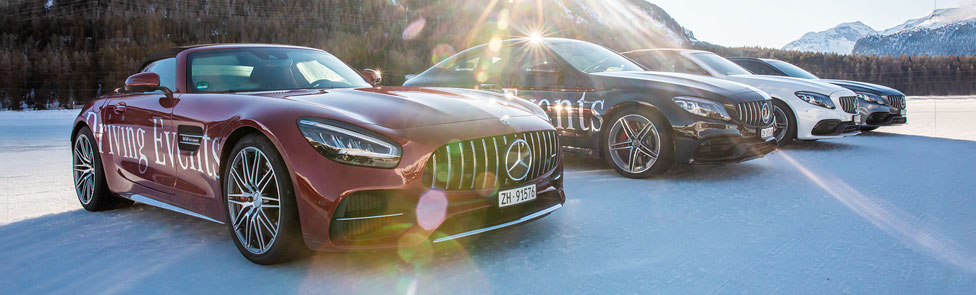 AMG Performance Tour 2020, St Moritz Edition : ESP OFF & Mode Sport+ ON !