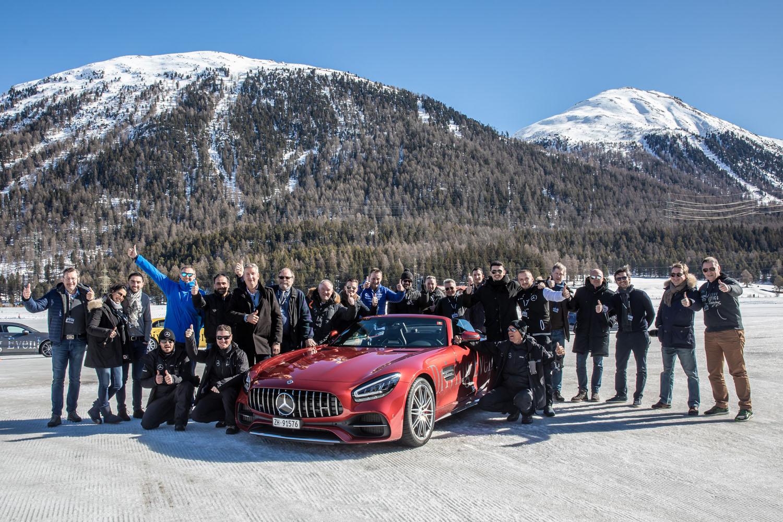 AMG Performance Tour 2020, St Moritz Edition : ESP OFF & Mode Sport+ ON !