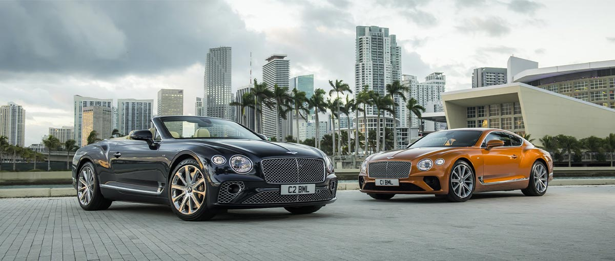 Bentley Continental GT V8 et GT V8 Convertible - Bentley Genève