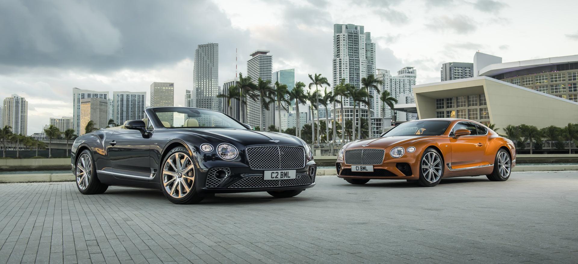 Bentley Continental GT V8 & GT V8 convertible