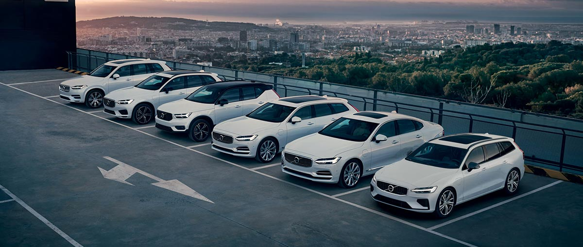 La gamme Volvo plug-in hybrid