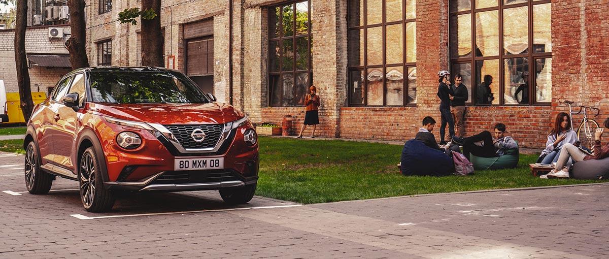 Nissan Juke Magazine trajectoire