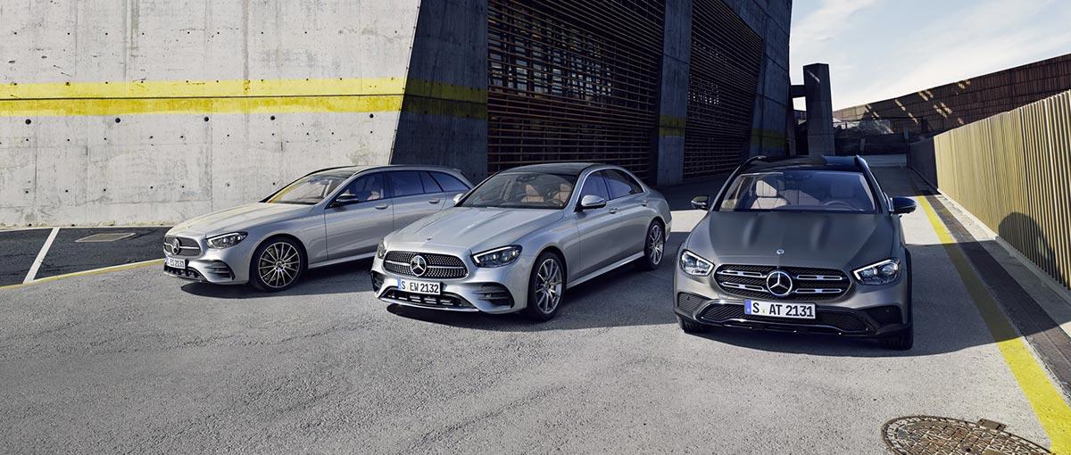 Gamme Mercedes Benz Classe E berline, break et coupé 2020