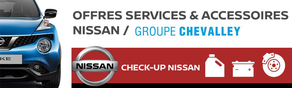 Offres services & Accessoires Nissan