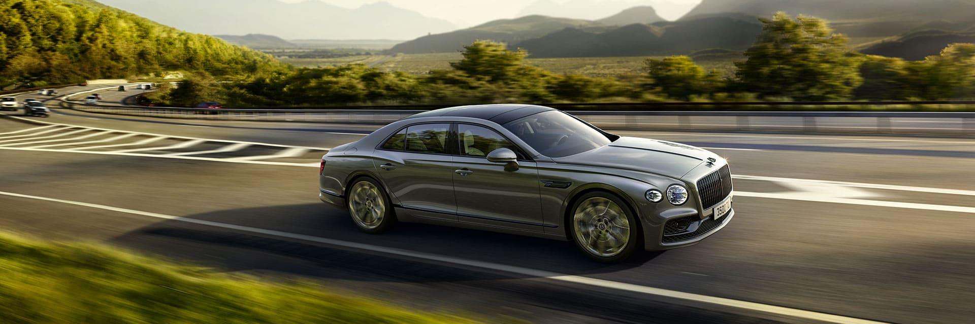 Un saut dans le futur avec la Bentley Flying Spur