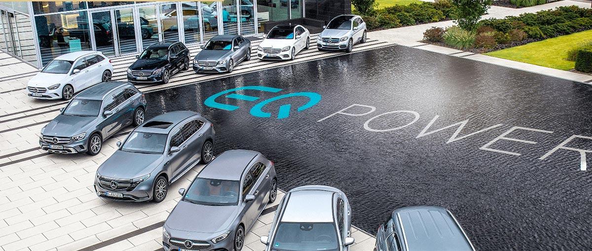 Mercedes Plug-in Hybride – Le plaisir de l'écoconduite