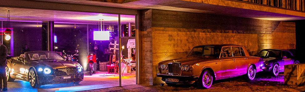 Dîner de Noël de Bentley Genève