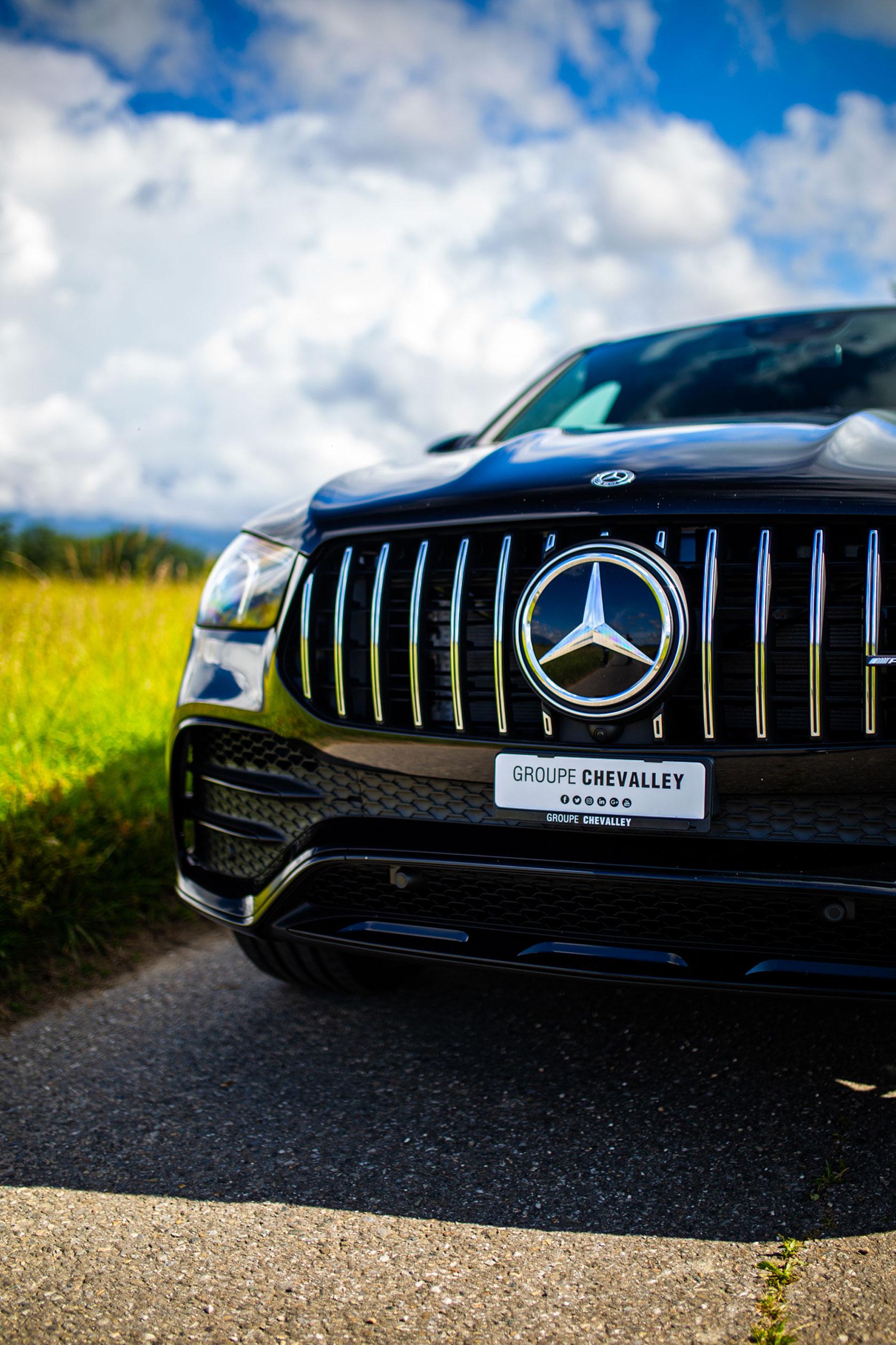 Essai et shooting du Mercedes-AMG GLE 53 4Matic+ Coupé