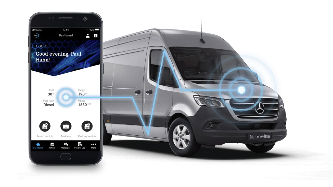 Qu'est ce que Mercedes Pro connect ?