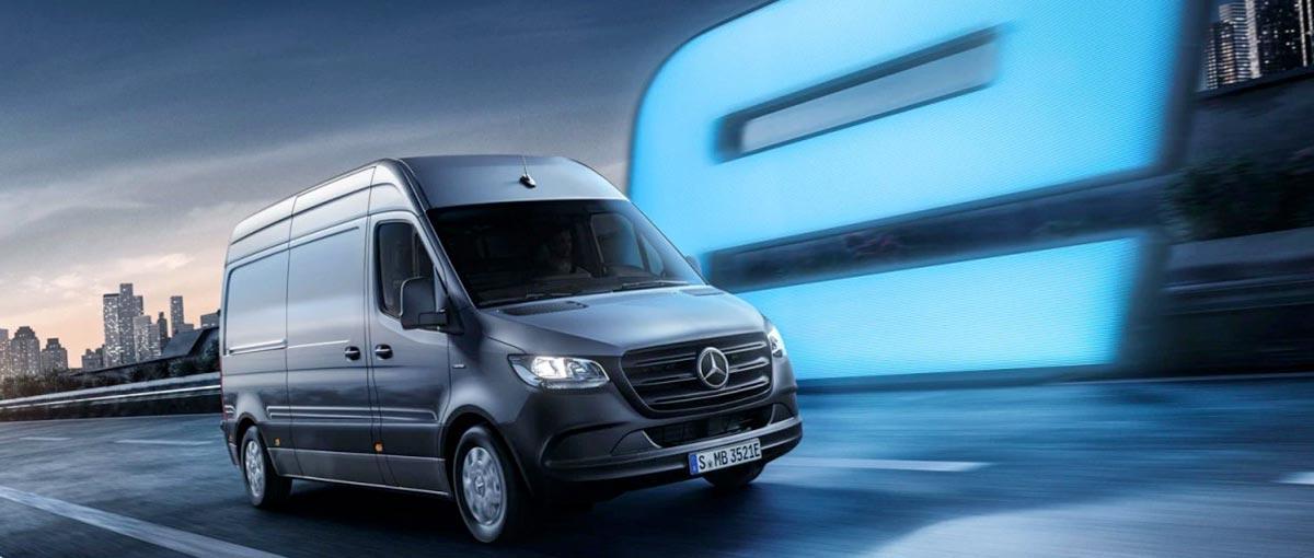 eSprintLe Mercedes eSprinterer Mercedes-Benz - Groupe Chevalley