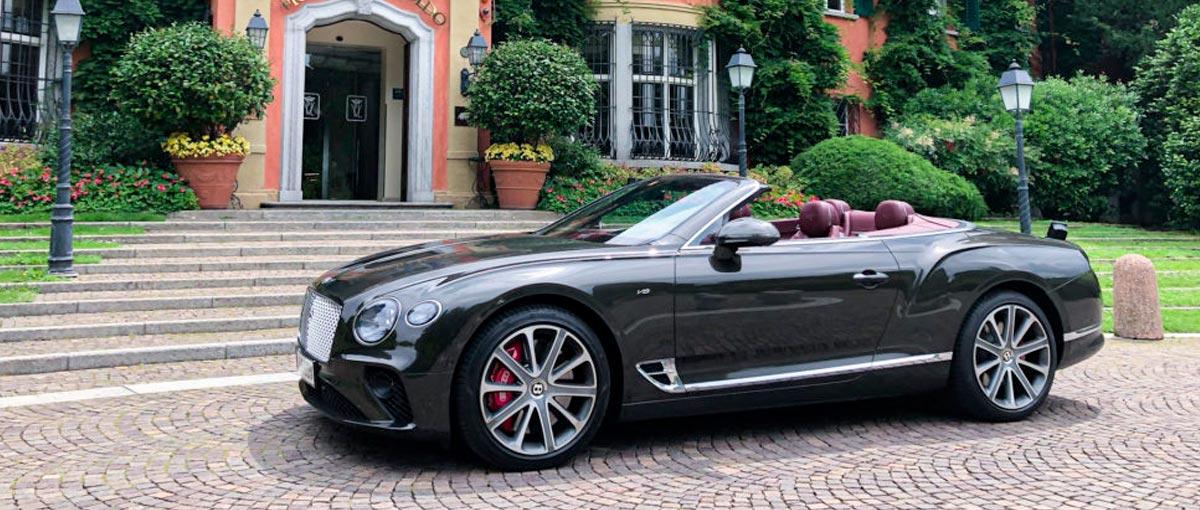 GTC V8 Lugano Bentley Genève