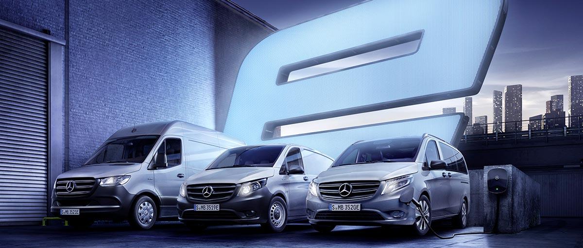 Gamme Utilitaires électriques - Mercedes-Benz Groupe Chevalley