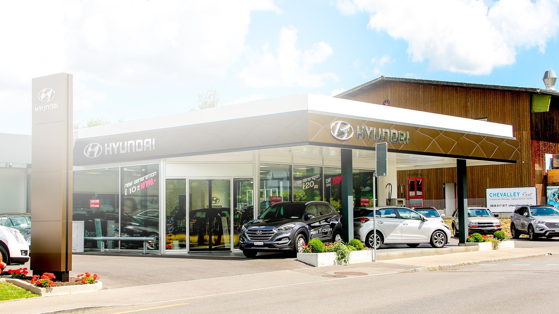 Garage Grimm Centre vente et occasions Hyundai Petit-Lancy