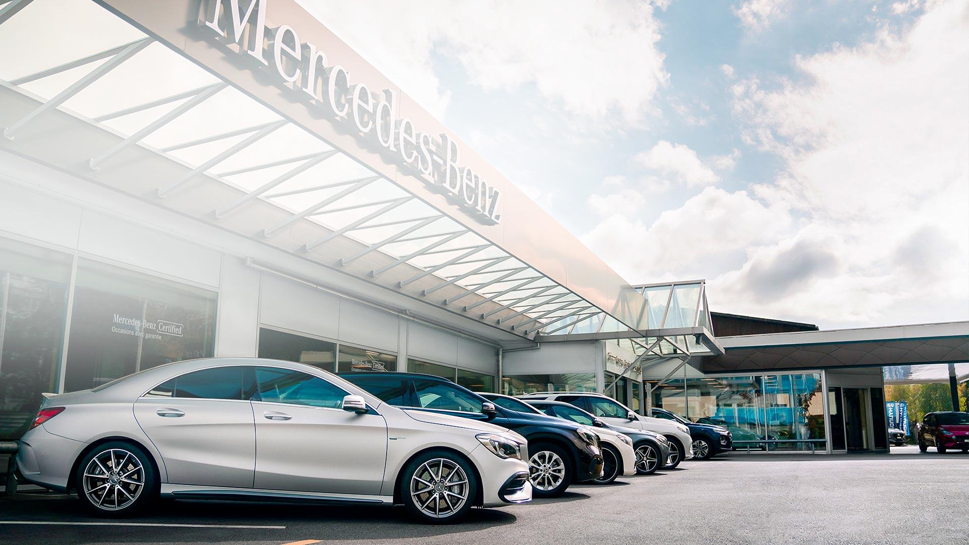 Garage Grimm Centre Service et occasions Mercedes-Benz Petit-Lancy