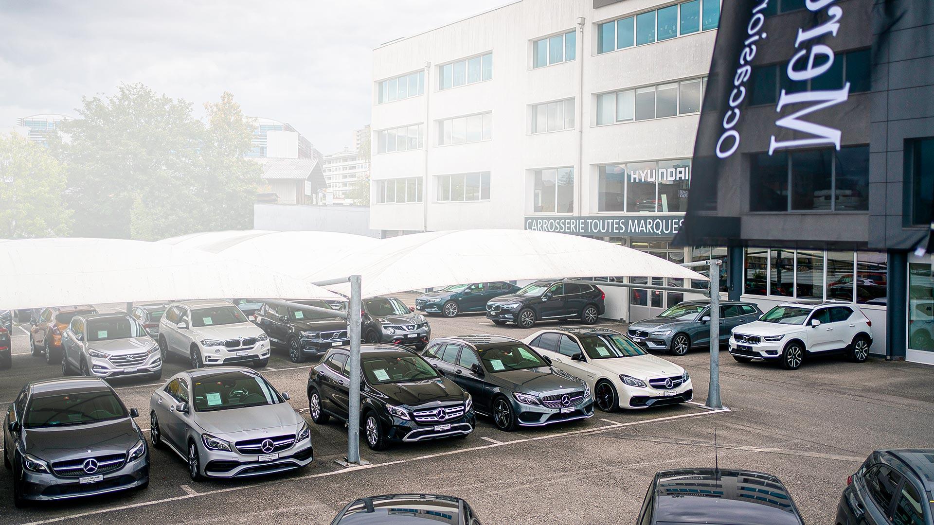 Garage Grimm Centre occasions Mercedes Certified Petit-Lancy