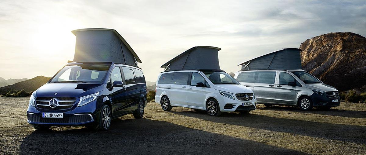 Mercedes Marco Polo véhicule de loisirs