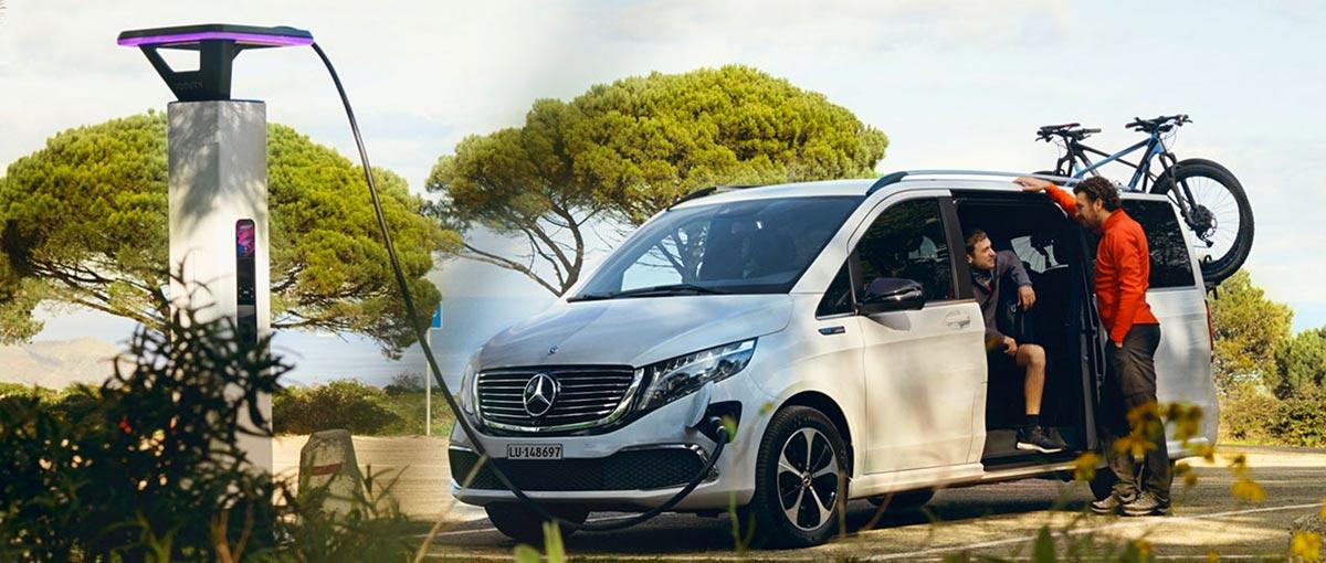 L'EQV, un véhicule électrique de grande puissance et confort