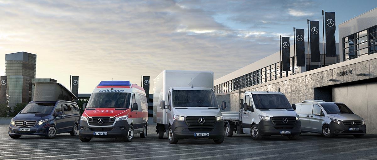 La gamme Utilitaires Mercedes Sprinter