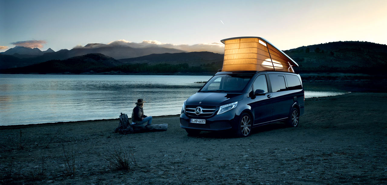Mercedes Marco Polo, le camping-car pour les individualistes exigeants.