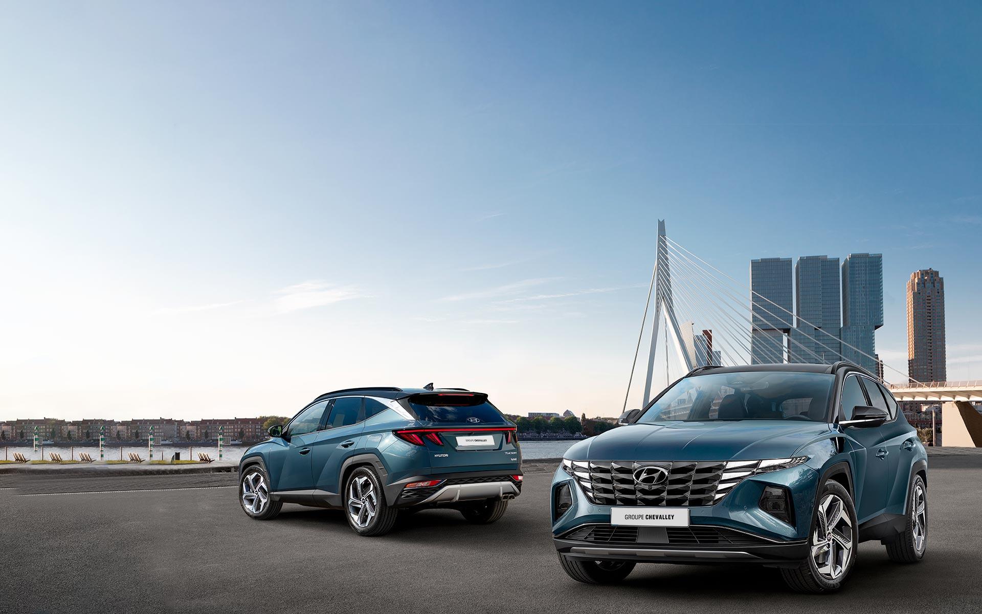 All-New Hyundai Tucson Hybrid 2021