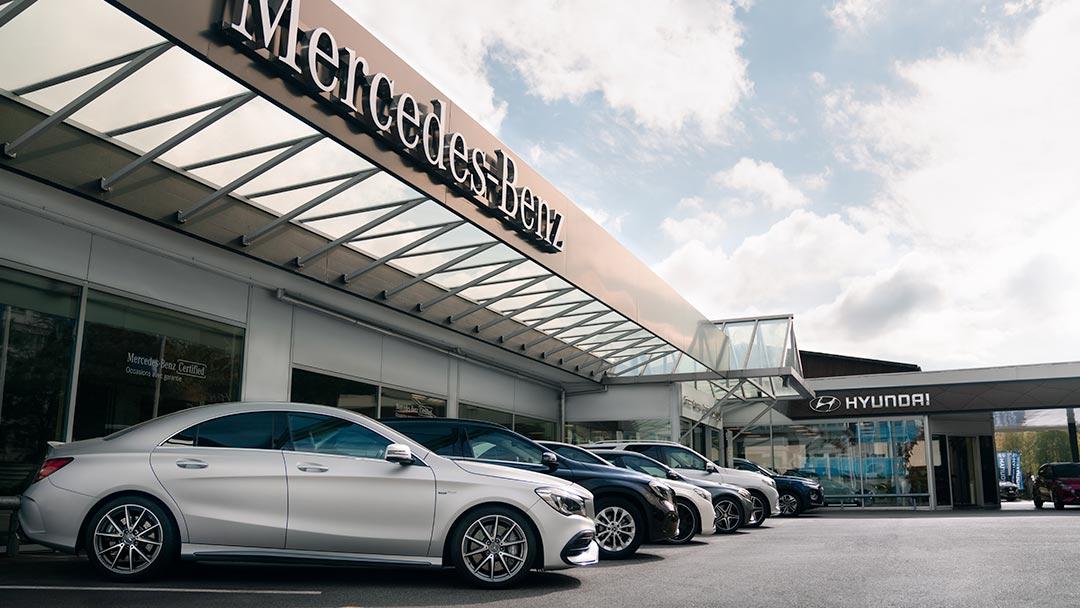 GARAGES - Vente de véhicules neufs & d'occasion et service après-vente